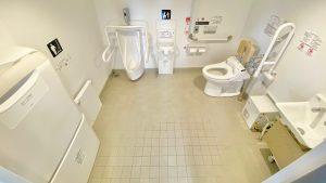 1階・バリフリ客室・トイレ